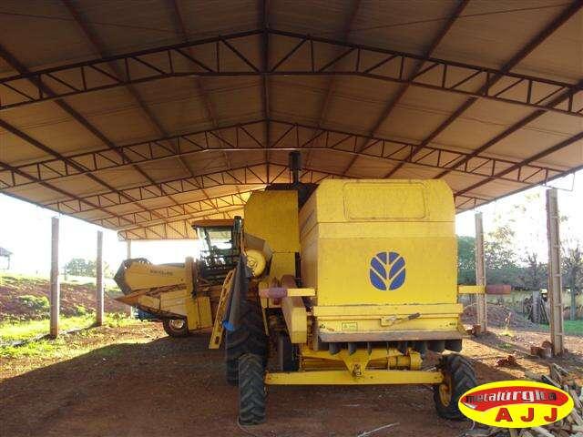 Você está imagens de: Cobertura Metálica para Maquinário e Insumos Agrícolas
