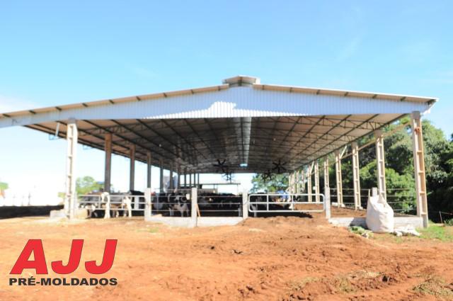 Você está imagens de: Estrutura Metálica - Compost Barn